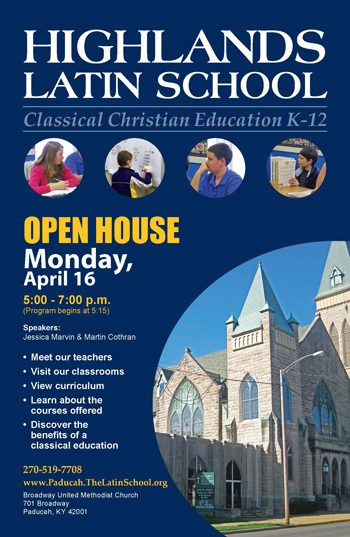 Paducah Open House April 16th