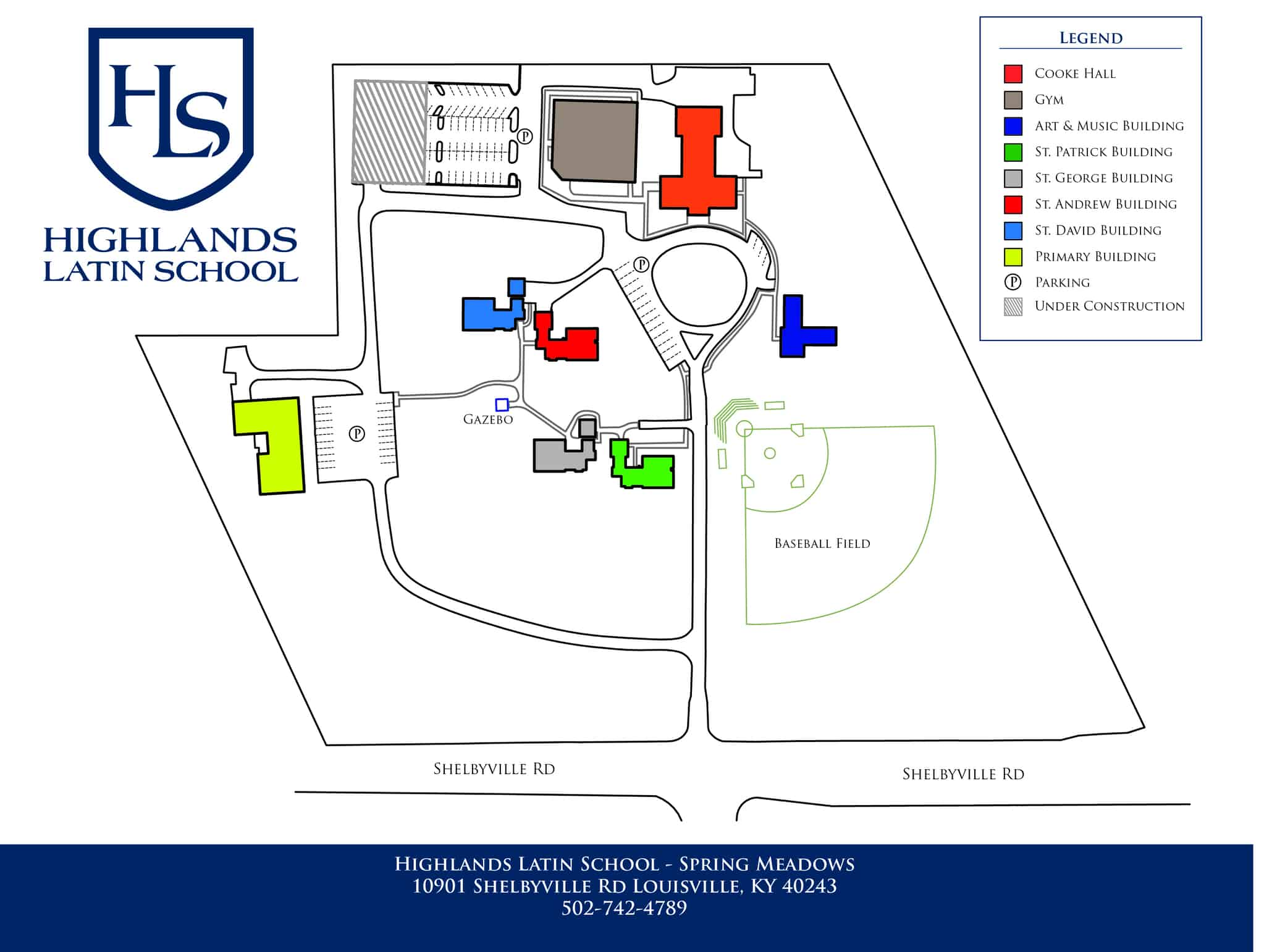 Hls Sm Campus Map Hls Louisville Ky