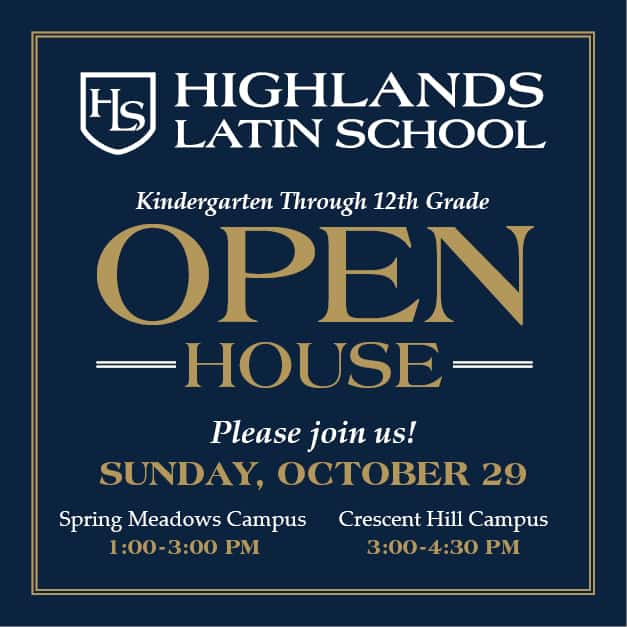 HLS Open House Sunday October 29